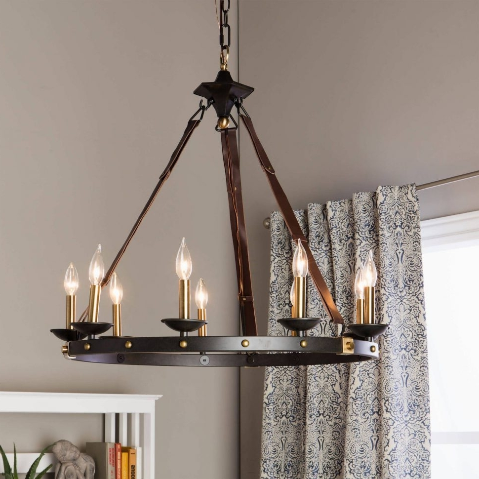 Trendy Chandelier : Led Chandelier Wrought Iron Chandeliers Indoor Lighting With Large Iron Chandeliers (View 20 of 20)