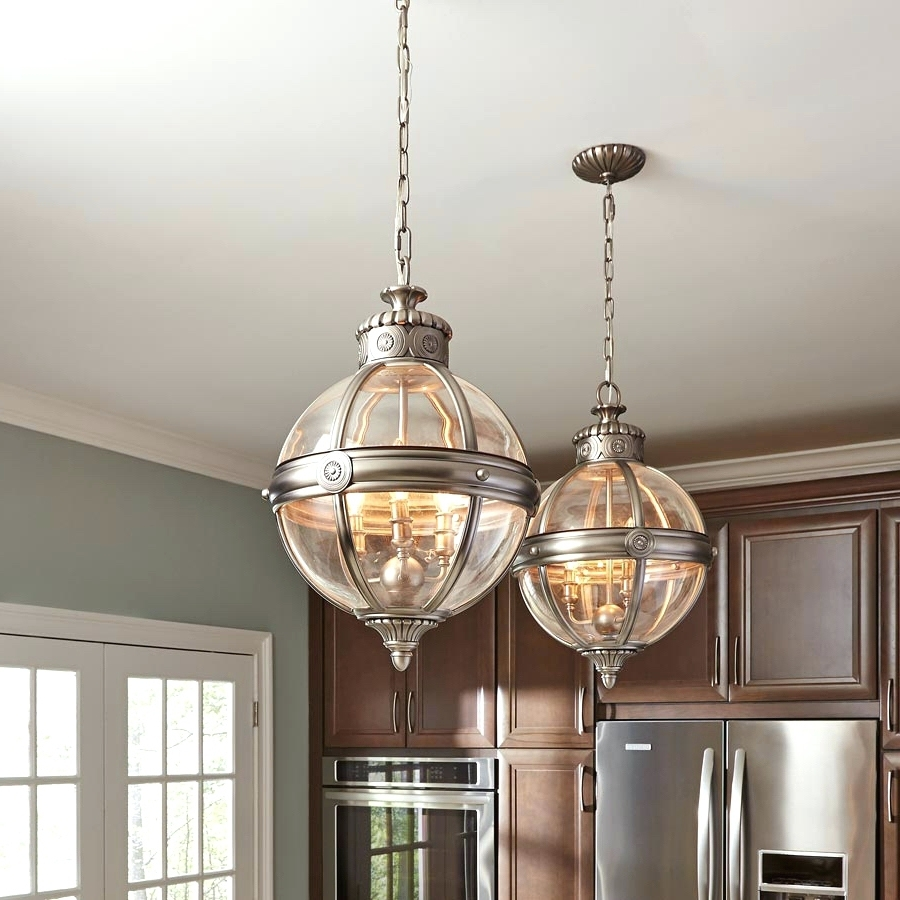 Trendy Chandeliers Design : Fabulous Large Globe Pendant Lighting Glass For Chrome And Glass Chandeliers (View 9 of 20)