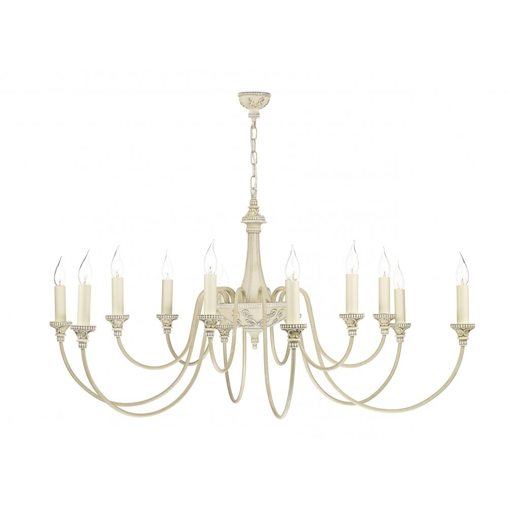 Trendy Cream Chandelier Lights Pertaining To Bai1245 Bailey Chandelier (View 18 of 20)