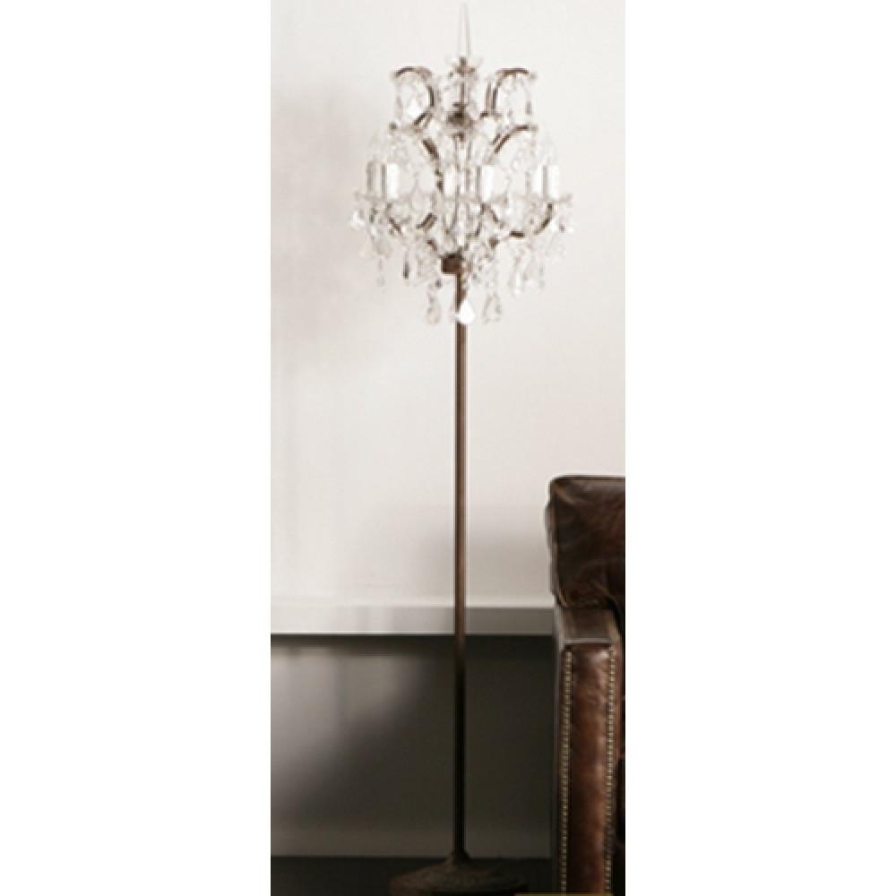 Trendy Exclusive Chandelier Floor Lamps Deals Inside Standing Lamp Plans 10 Throughout Chandelier Standing Lamps (View 11 of 20)