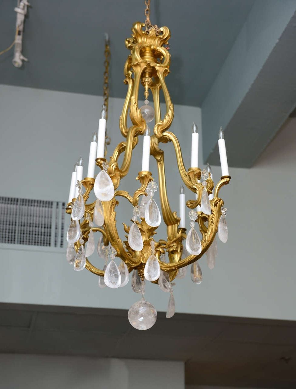 Trendy French Crystal Chandeliers Pertaining To Chandelier (View 17 of 20)