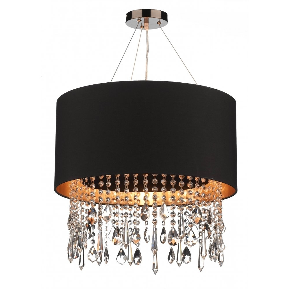 Trendy Light : Black Pendant Light Shades Ceiling Shade How To Make Home In Chandelier Light Shades (View 19 of 20)