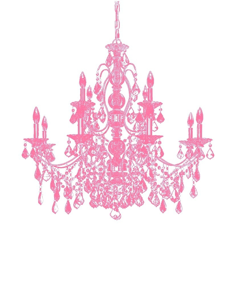 Trendy Light : Fuchsia Pink Gypsy Chandelier Baby Large Fabulous Pertaining To Pink Gypsy Chandeliers (View 19 of 20)