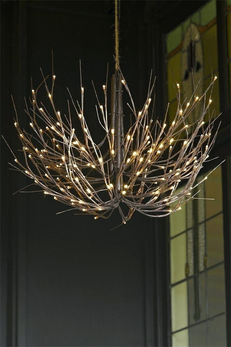Twig Chandelier – Medpharmjobs Within Best And Newest Lucinda Branch Chandelier (View 11 of 20)