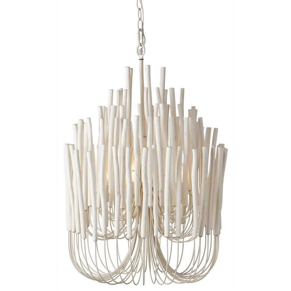 Featured Photo of Modern White Chandelier