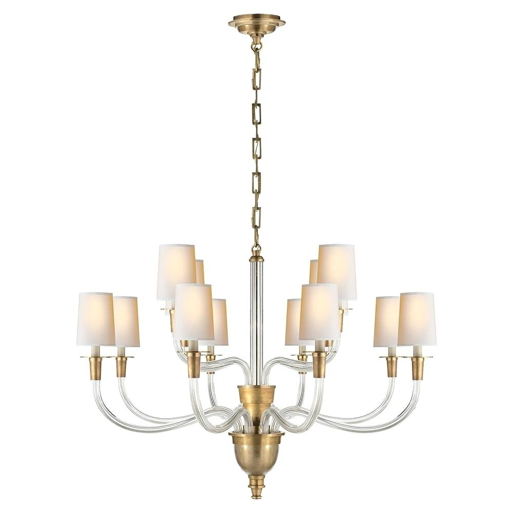 Visual Comfort Chandelier Country Linear Lighting Sale Throughout Newest Branched Chandelier (View 2 of 20)