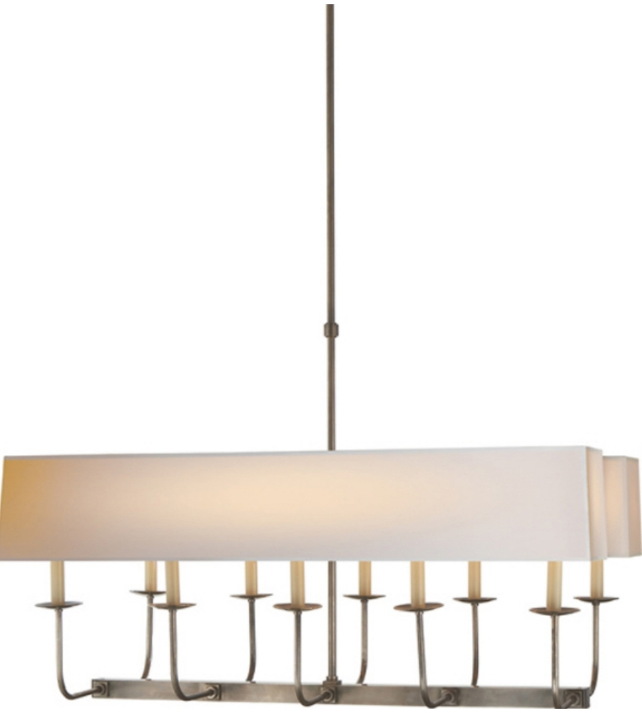 Visual Comfort Sl 5863An Np2 E. F. Chapman Modern Linear Branched Regarding Most Recent Branched Chandelier (Gallery 8 of 20)