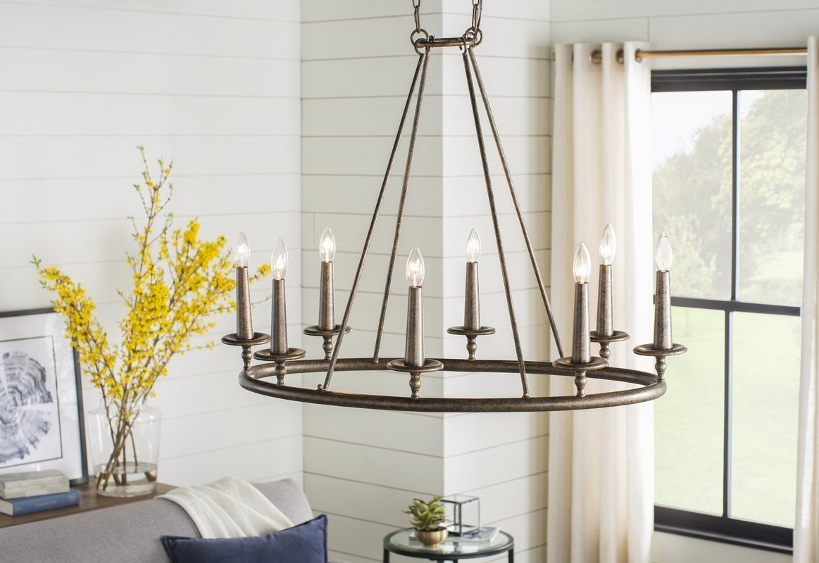 Wayfair Intended For Candle Light Chandelier (View 10 of 20)