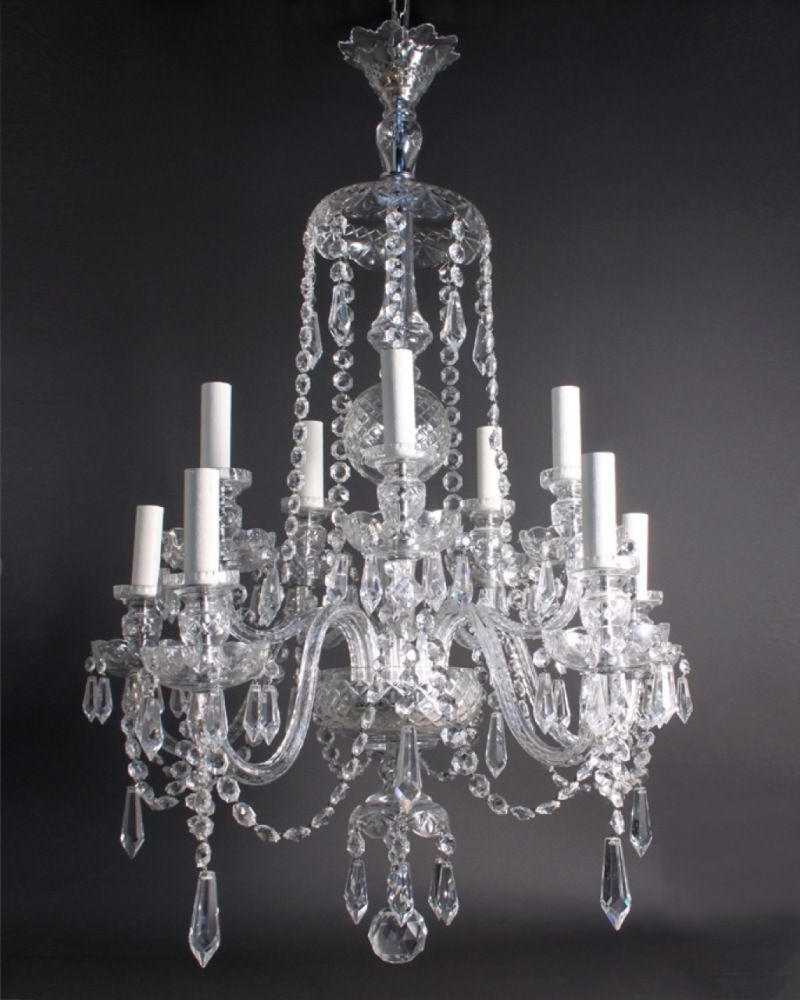 Well Known Antique Looking Chandeliers Regarding Antique Crystal Chandeliers In Interior Decor Home With Antique (View 20 of 20)