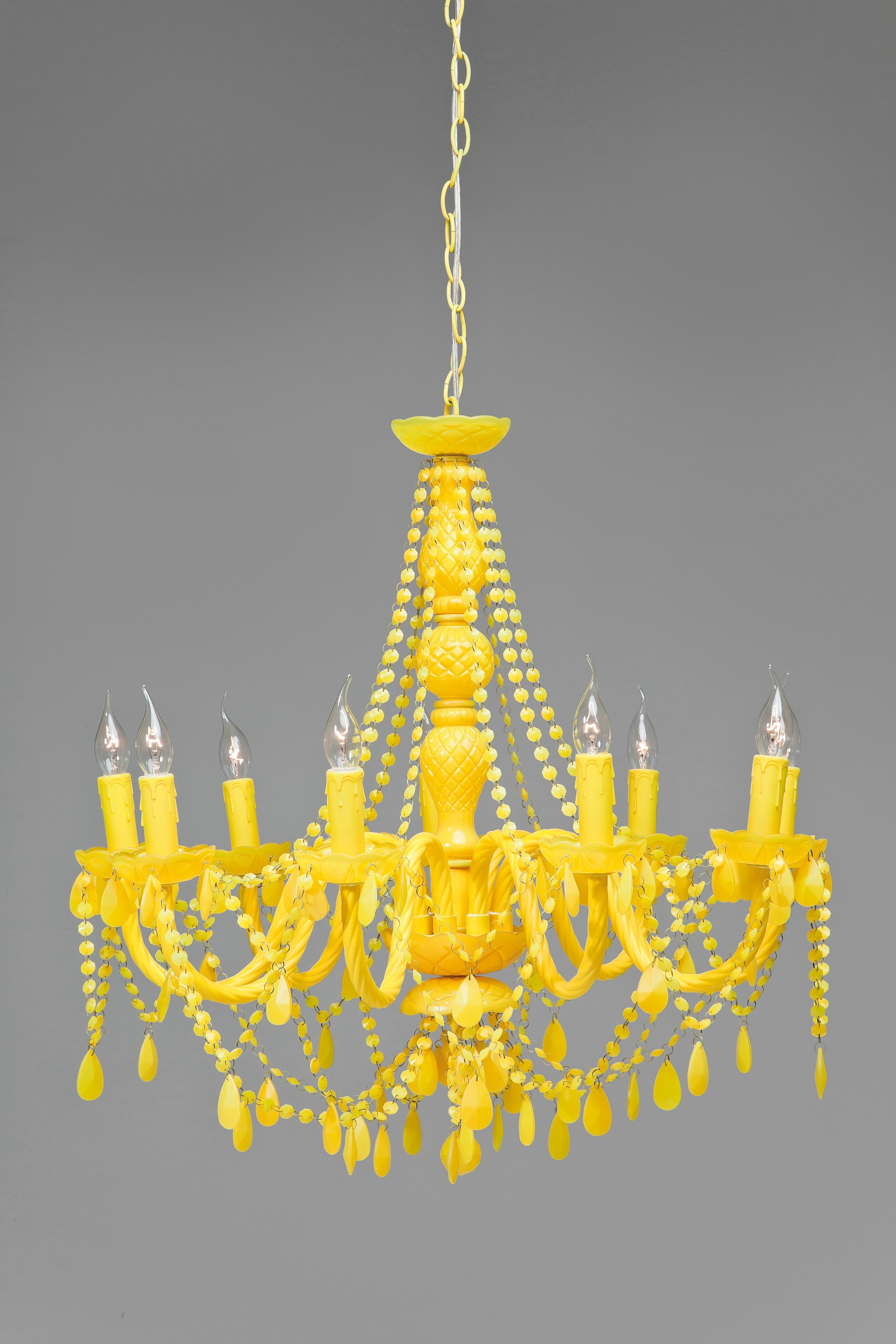 Well Known Baroque Chandelier Inside Yellow Baroque Chandelier (View 13 of 20)