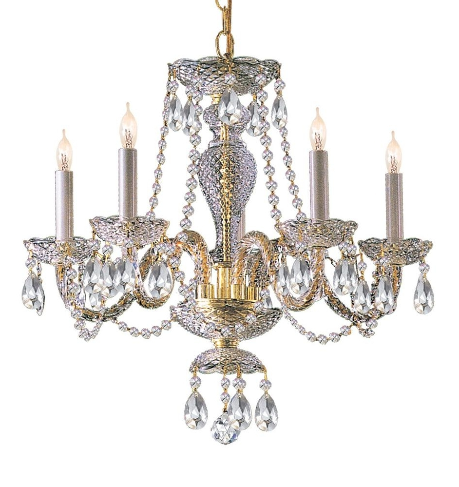 Well Known Brass And Crystal Chandelier Inside Buy 10 Lights Polished Br Crystal Chandelier Bedroom Armoires Dining (View 19 of 20)