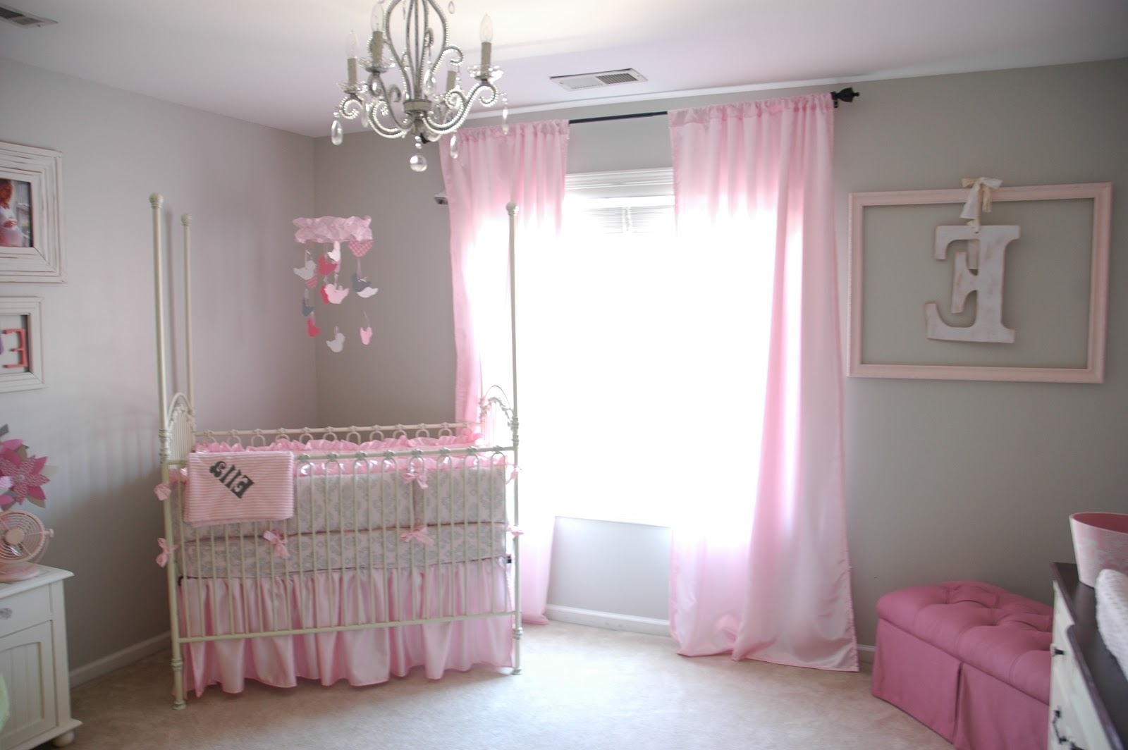 Well Known Chandeliers Design : Fabulous Pretty Crystal Chandelier Baby Girl With Crystal Chandeliers For Baby Girl Room (View 17 of 20)