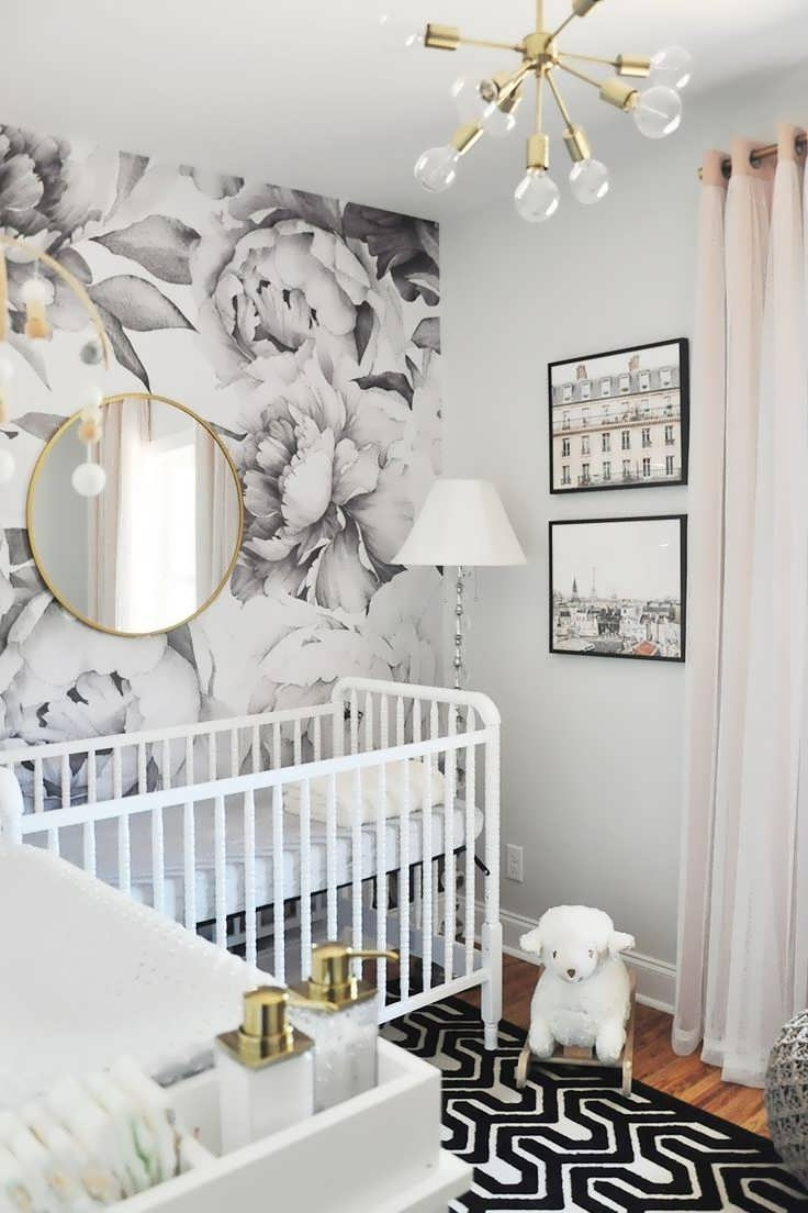 Well Known Chandeliers Design : Marvelous Crystal Chandelier Baby Girl Room In Crystal Chandeliers For Baby Girl Room (View 9 of 20)