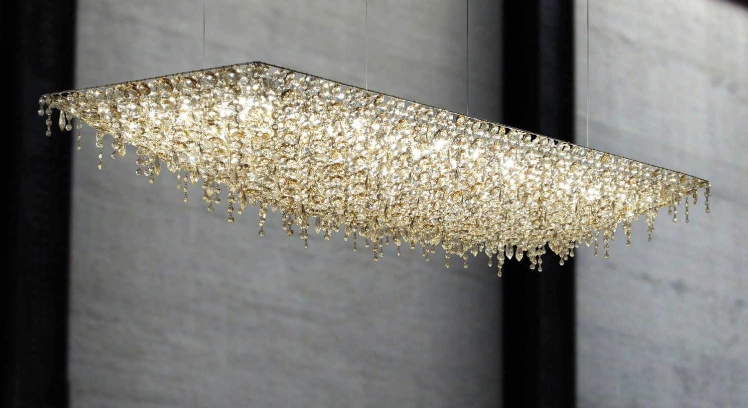 Well Known Chandeliers Design : Wonderful Long Chandelier Lighting Extra Within Long Chandelier (View 19 of 20)