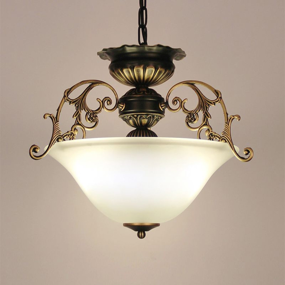 Well Known Chinese Chandelier Within European Kitchen Glass Chain Chandelier Lighting Fixtures Dining (View 3 of 20)
