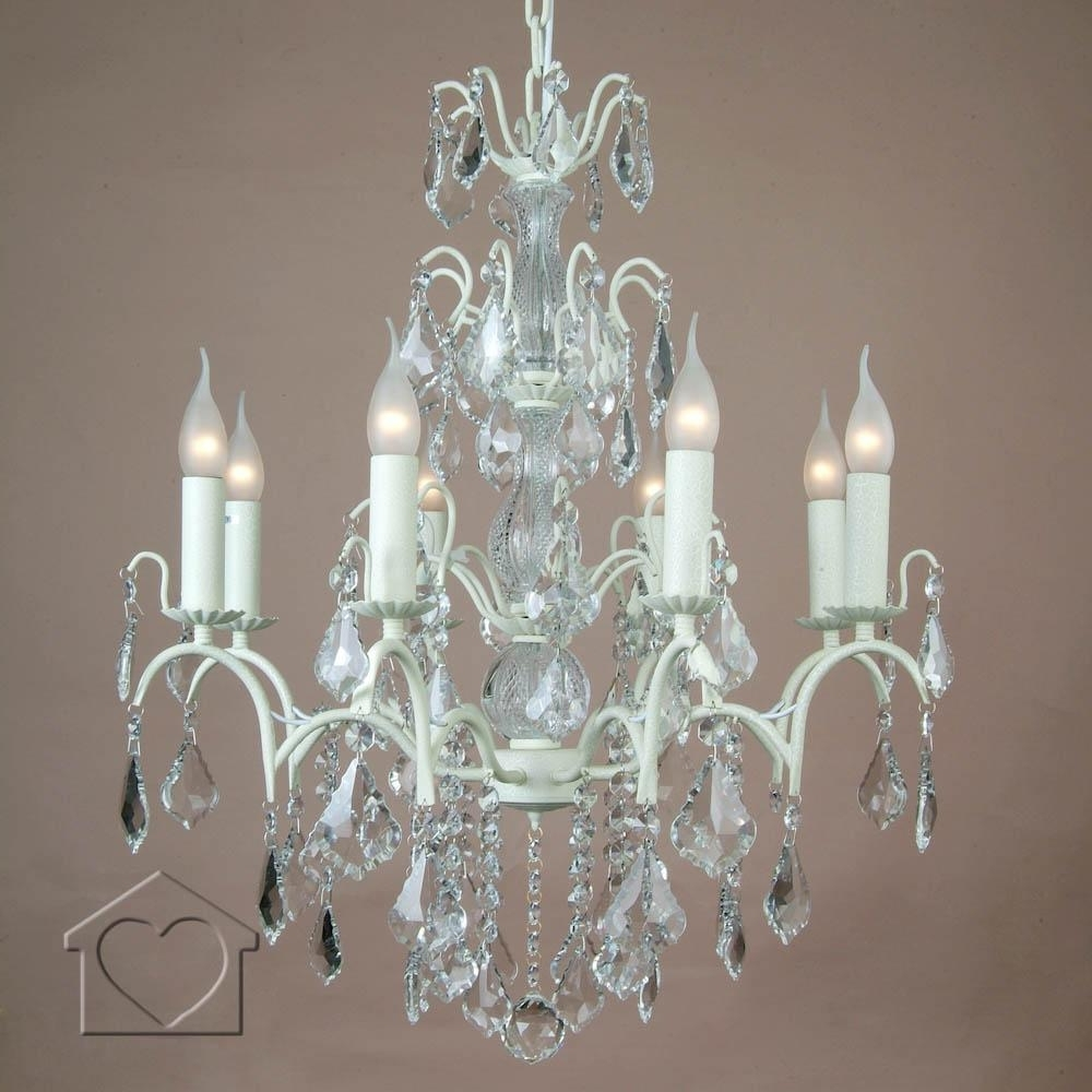 Well Known Cream Chandeliers Within Large Cream Chandelier – £ (View 10 of 20)