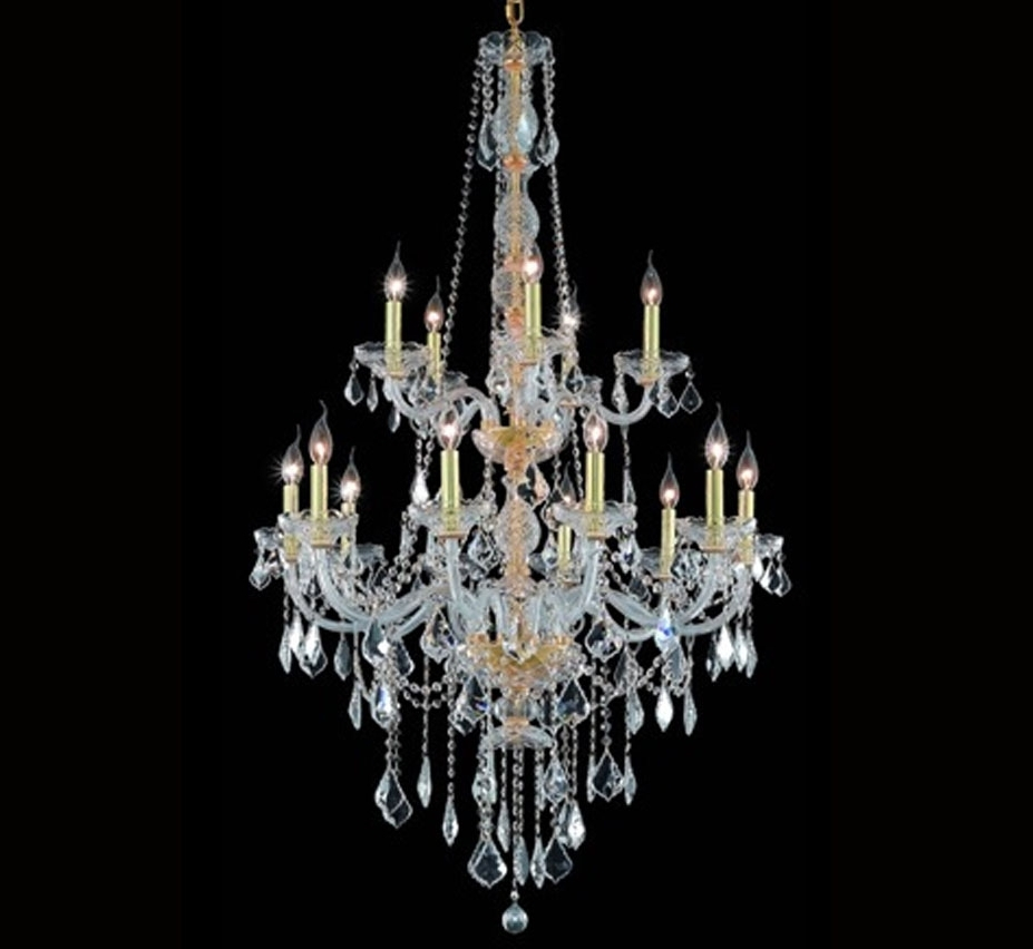 Featured Photo of Extra Large Crystal Chandeliers