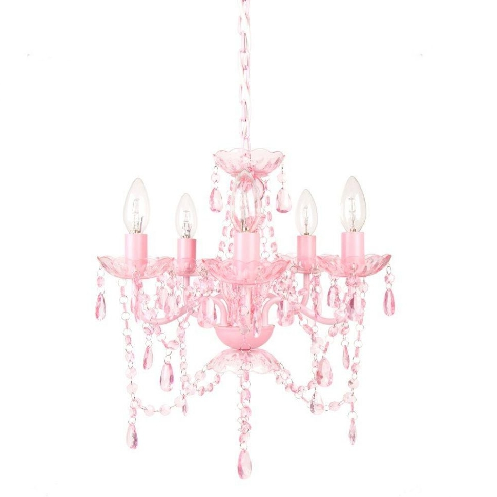 Well Known Fuschia Chandelier With Regard To Ceiling Fans : Ceiling Fan With Chandelier Light Kit Girl Stylish (View 7 of 20)