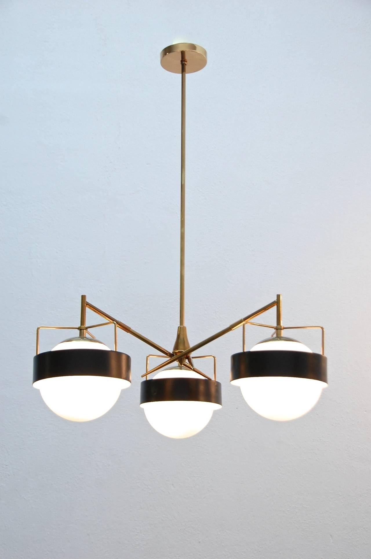 Well Known Italian Chandeliers Contemporary Pertaining To 1950S Italian Saturn Chandelier (View 19 of 20)
