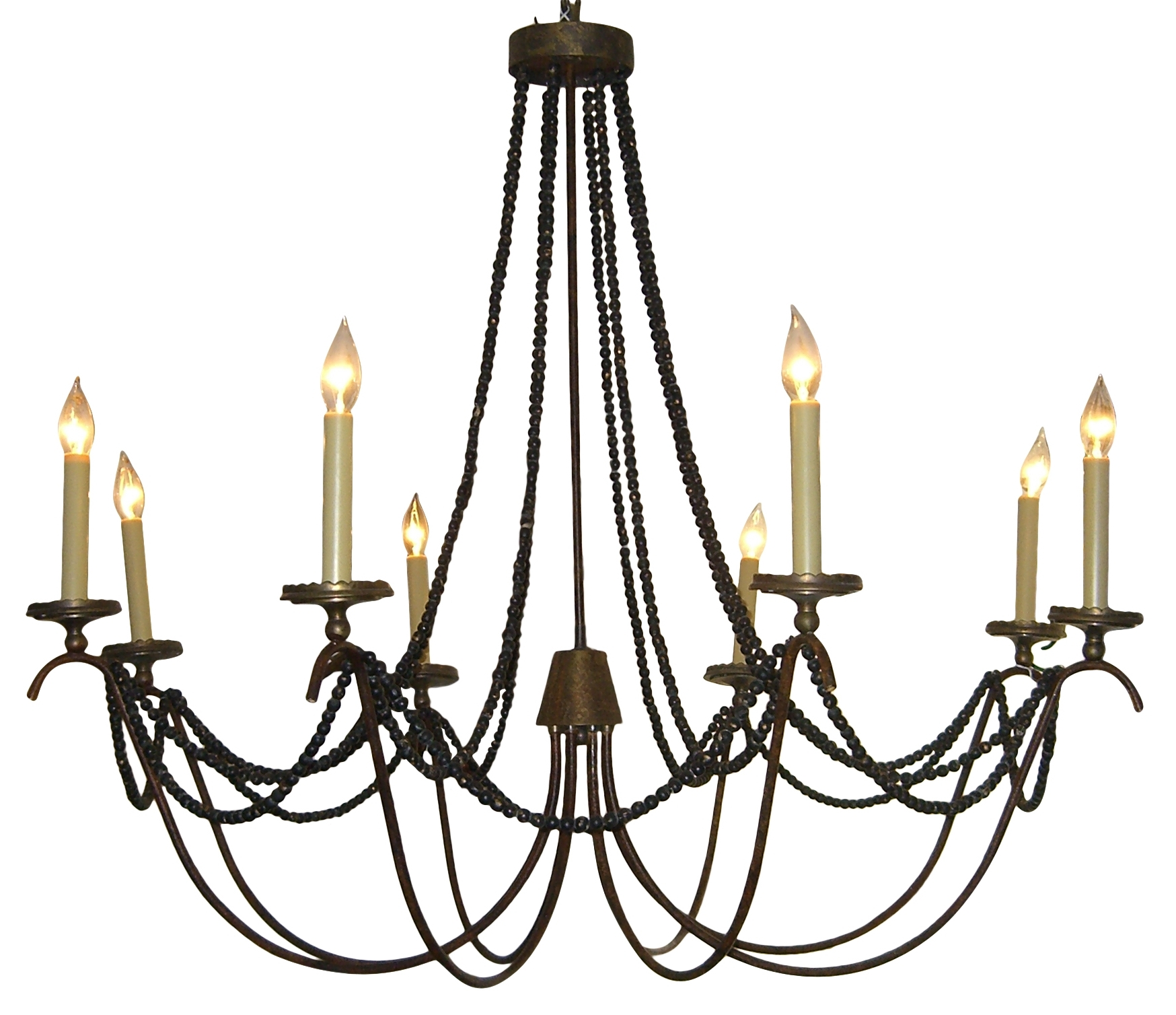 Well Known Large Iron Chandelier Pertaining To Large Iron Chandelier Metal – Closdurocnoir (View 18 of 20)