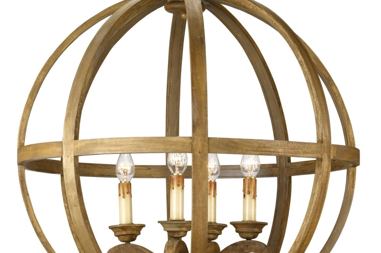 Well Known Metal Sphere Chandelier Regarding Accessories: Beautiful Orb Chandelier For Interior Lighting Ideas (View 10 of 20)