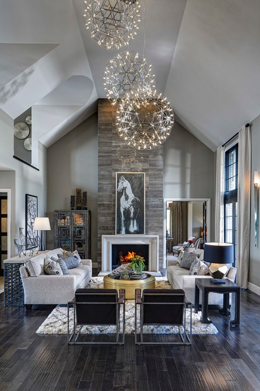 Well Known Modern Large Chandelier With Regard To Light : Amazing Spherical Chandelier Modern For Decorating Your Home (View 19 of 20)