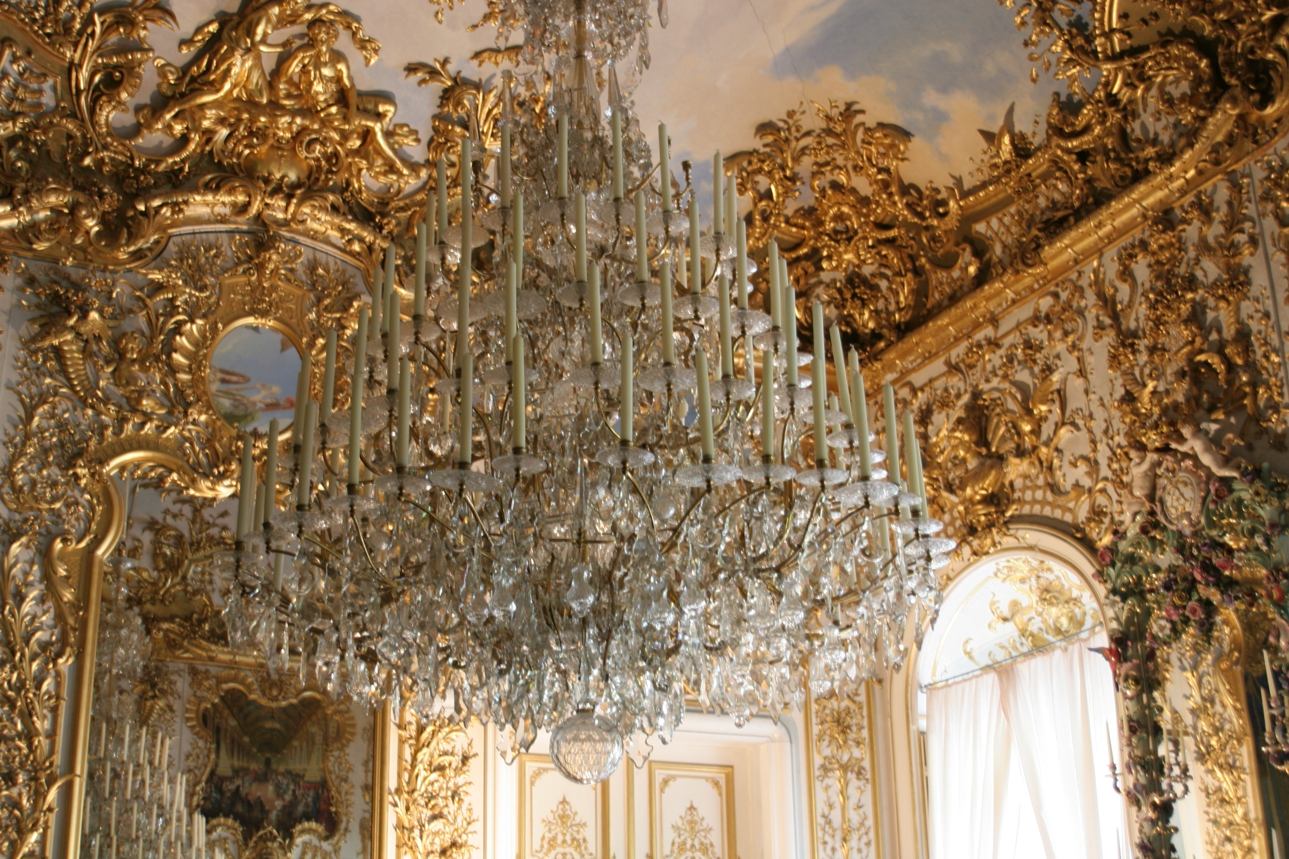 Well Known Ornate Chandeliers Inside The History Of The Chandelier – Hankering For History (View 6 of 20)