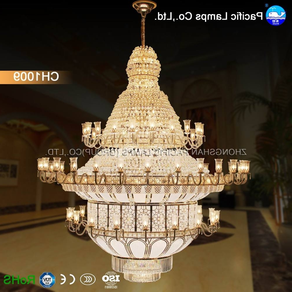 Well Known Zhongshan Large Hotel Chandelier For High Ceilings – Buy Hotel In Hotel Chandelier (View 19 of 20)
