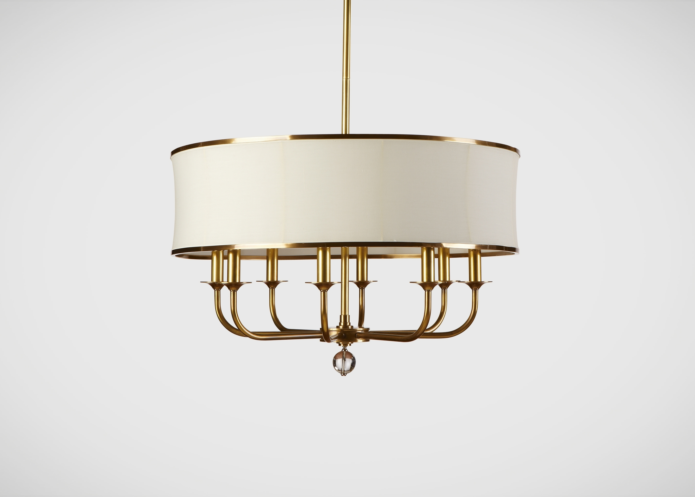Well Known Zoe Eight Light Brass Chandelier (View 5 of 20)