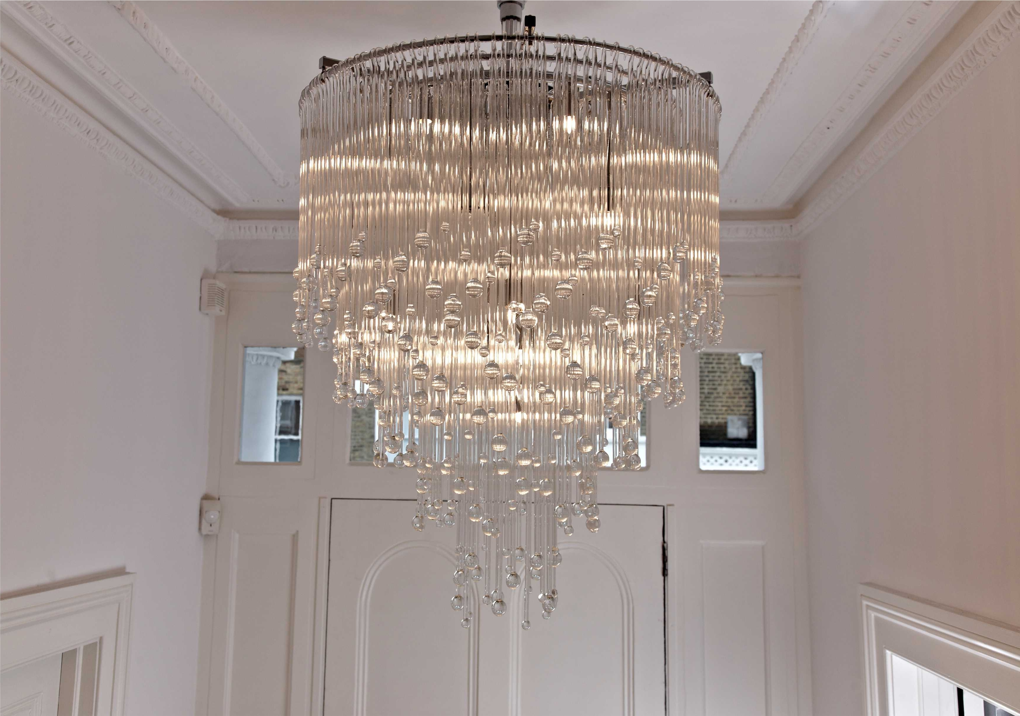 Well Liked Bathroom Safe Chandeliers For Beauteous 50+ Bathroom Chandeliers Uk Inspiration Of Krebs Lancelot (View 13 of 20)
