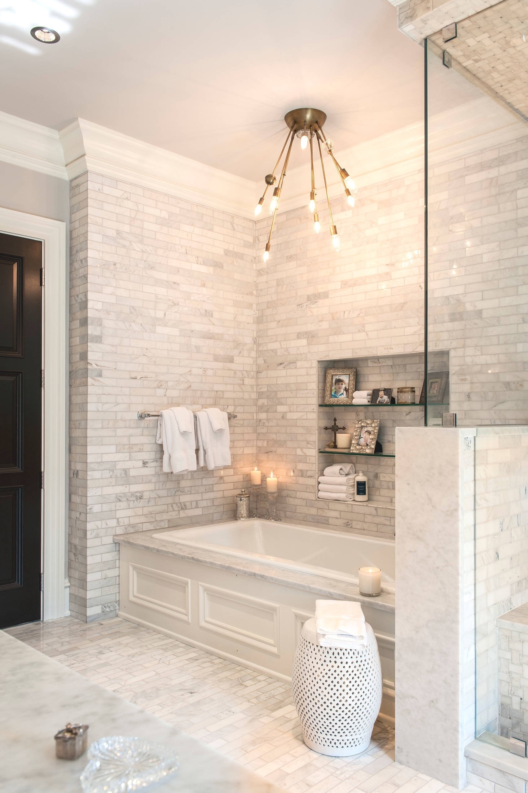 Well Liked Chandelier Bathroom Ceiling Lights Intended For Bathroom Ceiling Lighting Ideas (View 20 of 20)