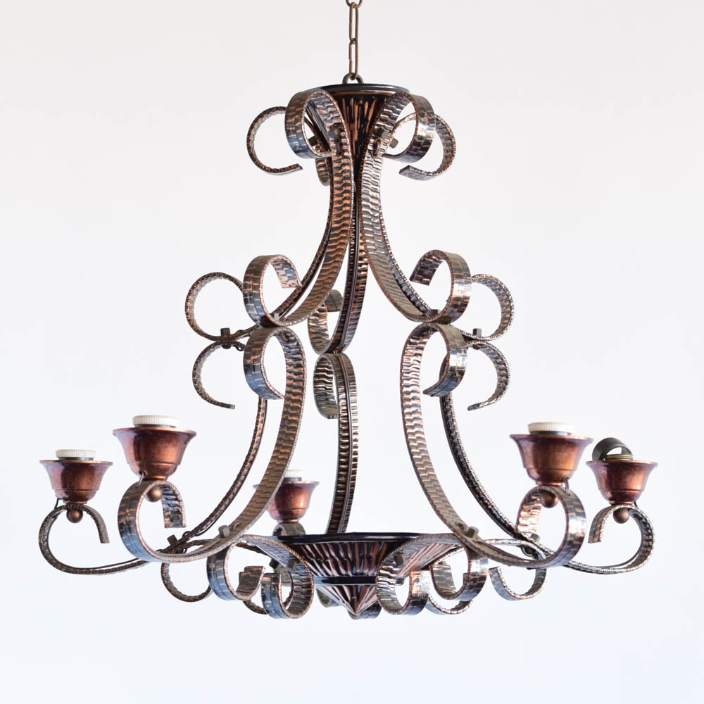 Well Liked Copper Chandelier – The Big Chandelier Inside Copper Chandelier (View 18 of 20)