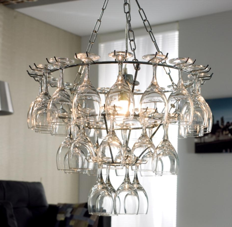 Well Liked Creative Glass Chandelier Design For