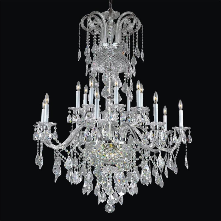 Well Liked Foyer Crystal Chandelier – Shop – Glow® Lighting With Cheap Faux Crystal Chandeliers (View 17 of 20)
