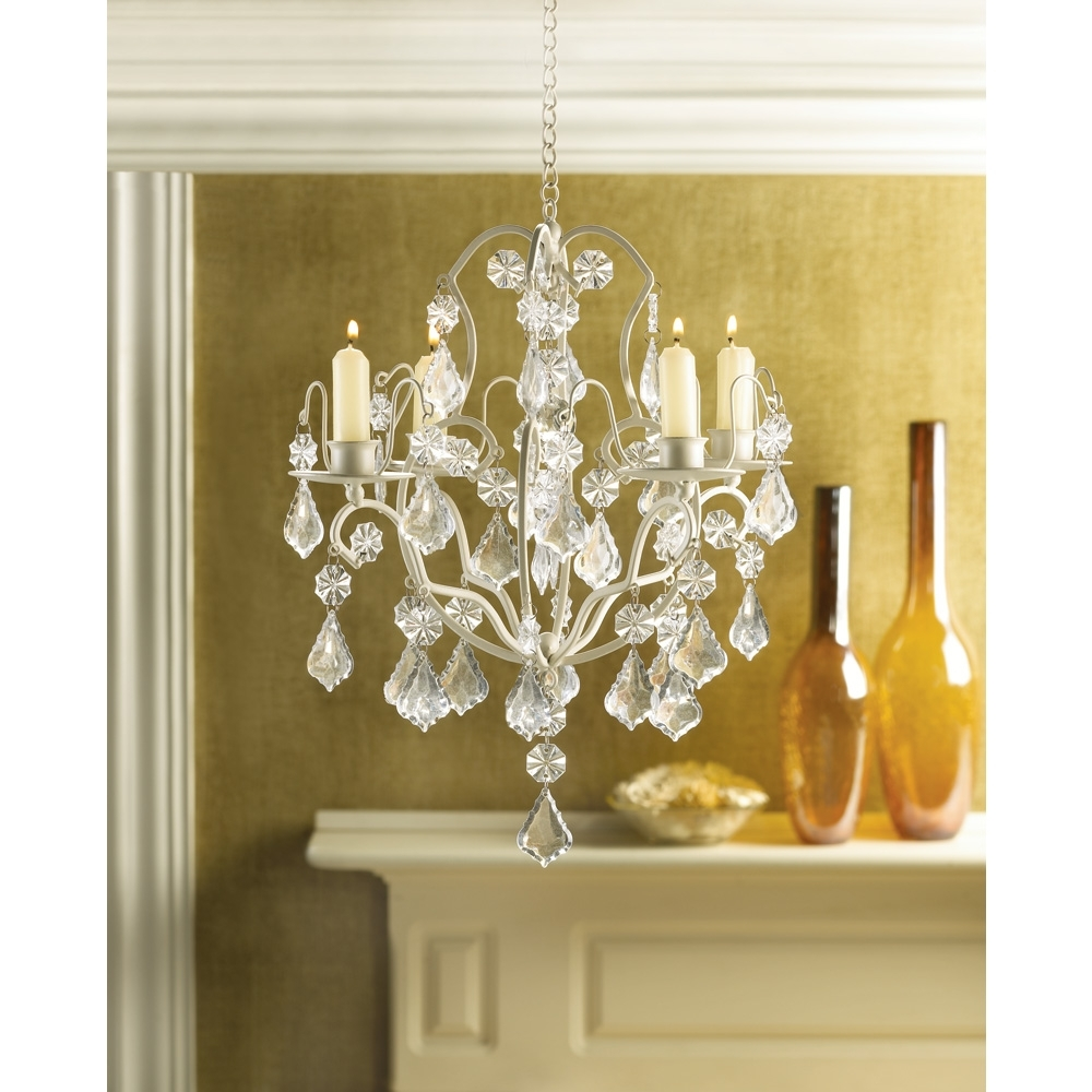 Well Liked Home Design : Fabulous Hanging Candelabra Chandelier Candle Within Hanging Candle Chandeliers (View 20 of 20)