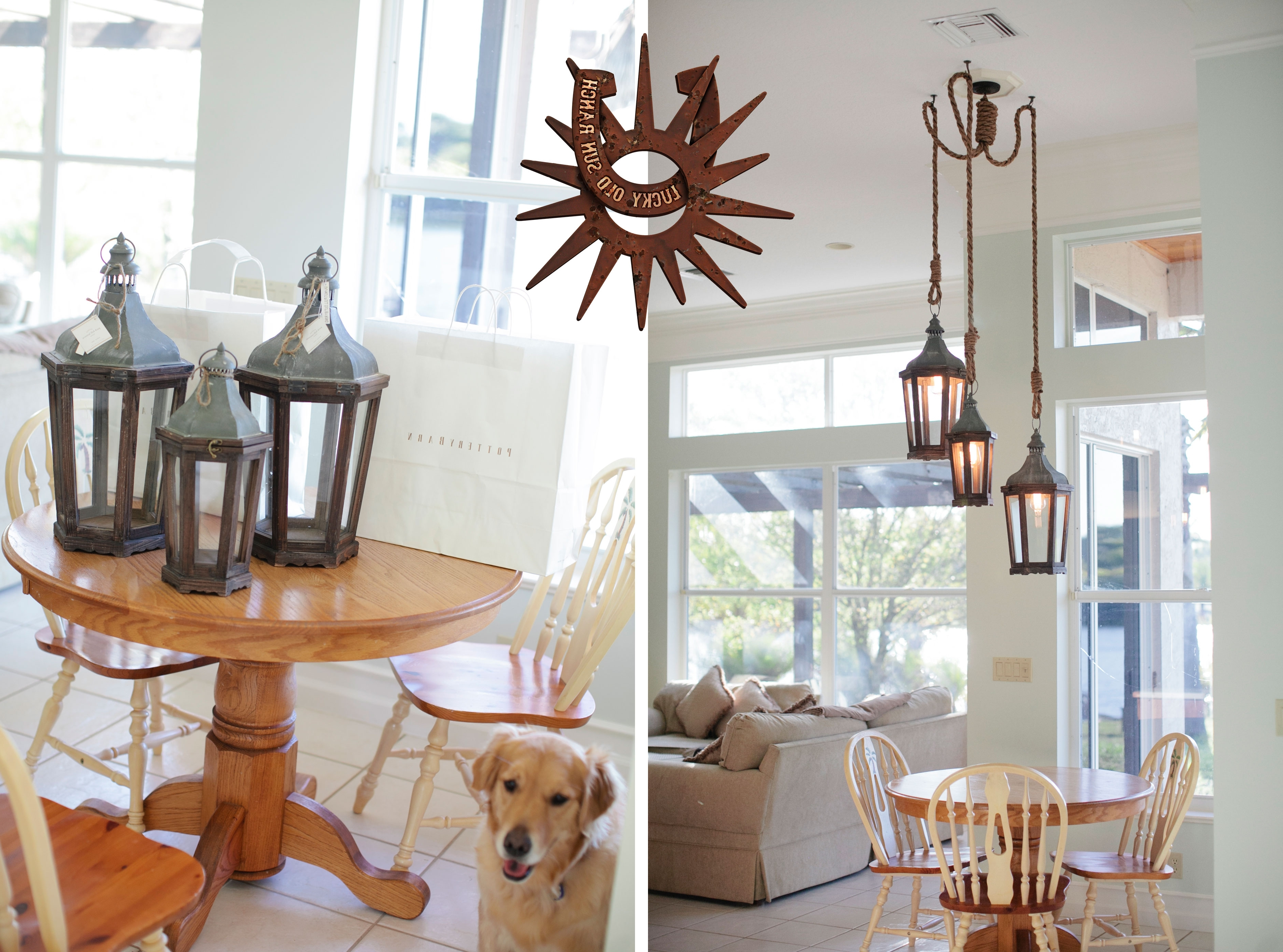 Well Liked Indoor Lantern Chandelier With Lucky Old Sun Ranch (View 20 of 20)