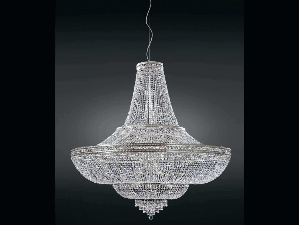 Well Liked Lead Crystal Chandeliers Intended For Lead Crystal Chandeliers Chandelier Parts Uk Design Magnificent Id (View 17 of 20)