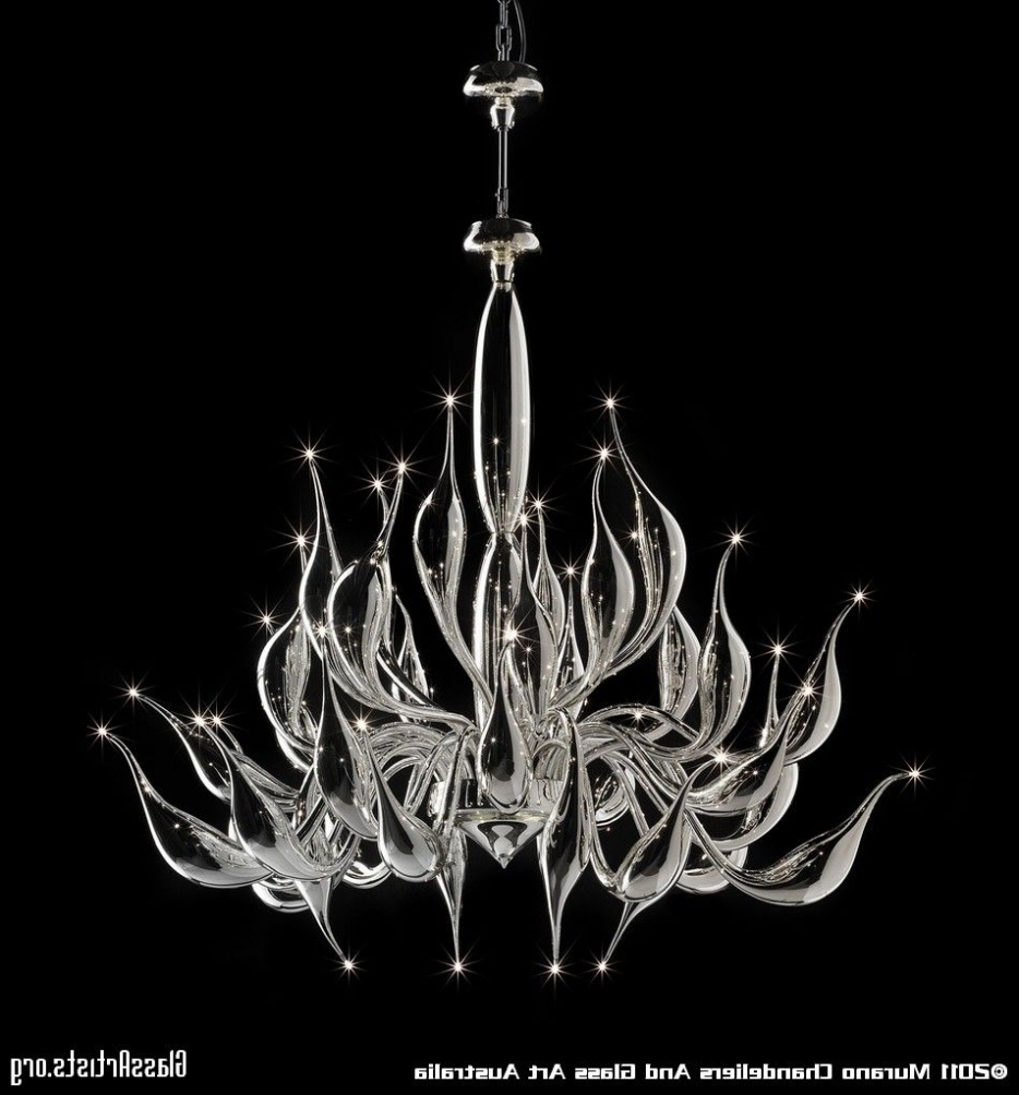 Well Liked Lighting: Art Glass Chandelier Modern. Art. Chandelier. Modern. Glass (View 19 of 20)