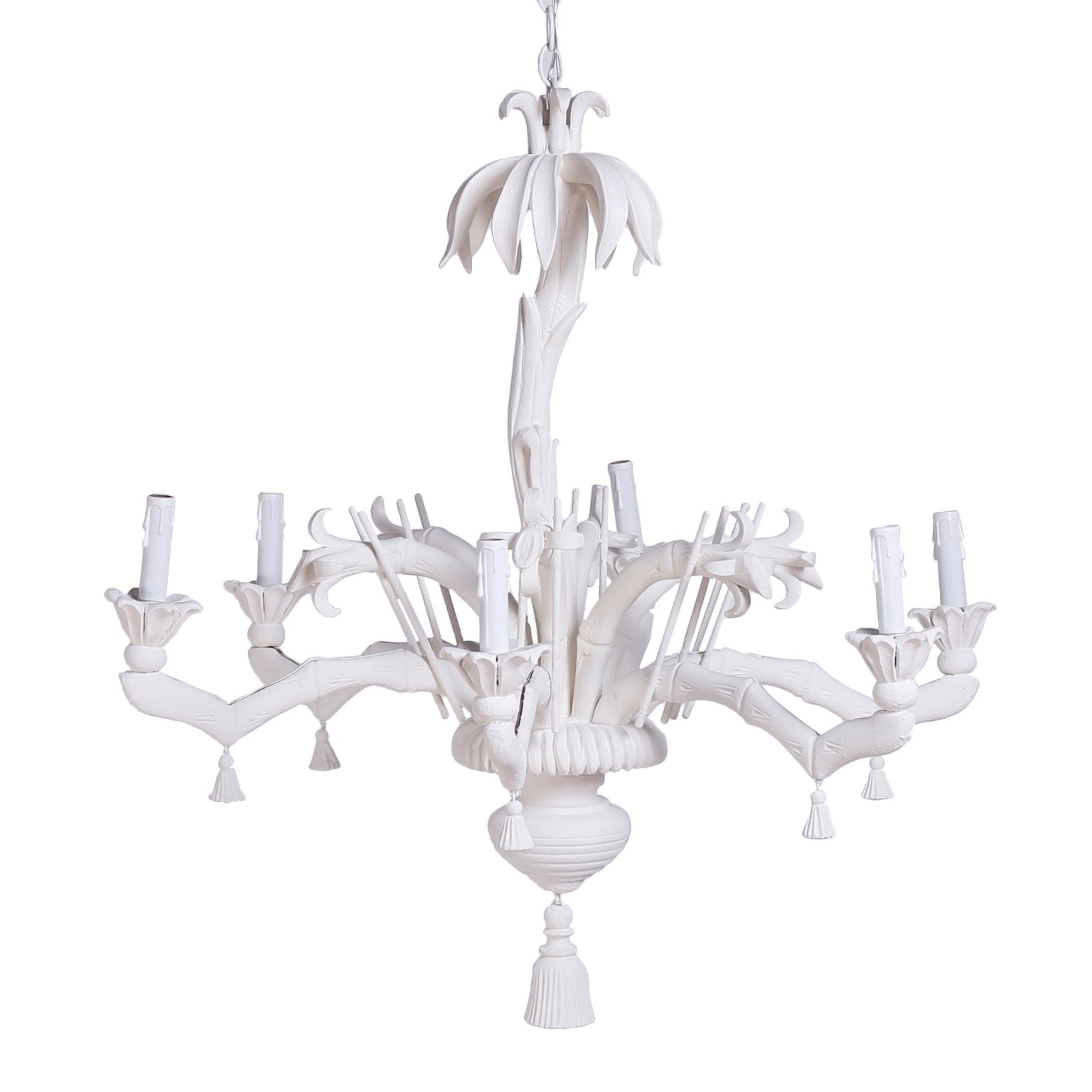 White Palm Tree Chandelier At 1stdibs For Newest Chinoiserie Chandeliers (View 6 of 20)