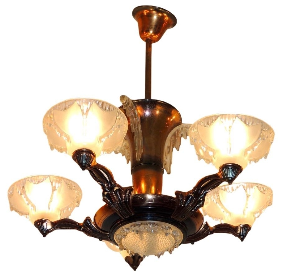 Widely Used Art Deco Lighting For Sale (View 16 of 20)