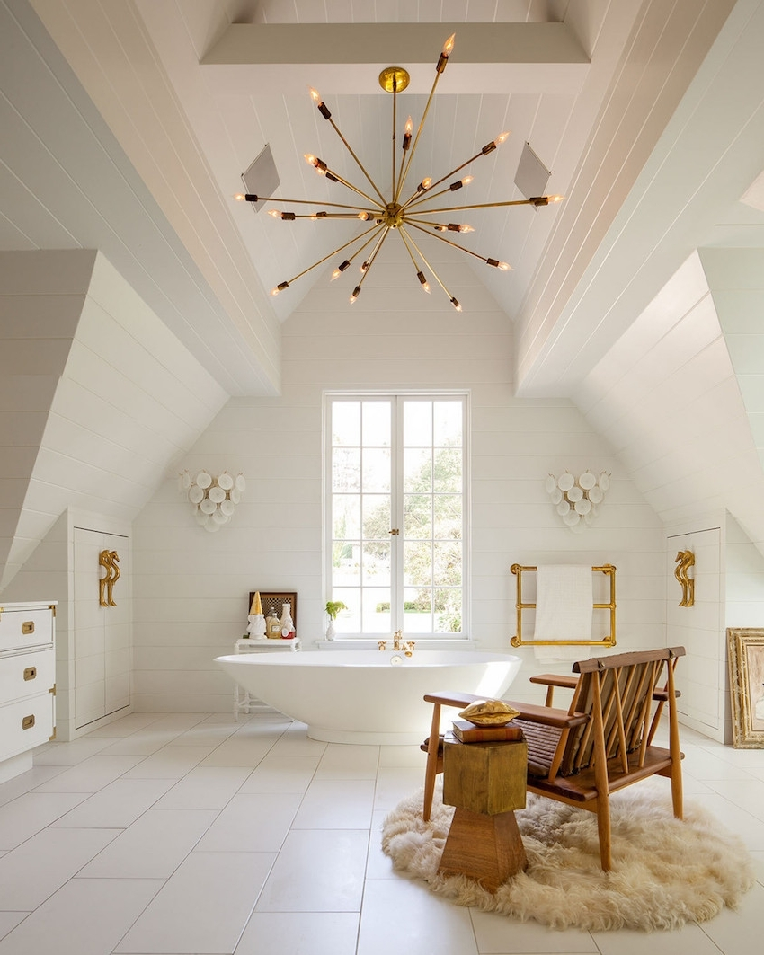 Widely Used Chandeliers Design : Magnificent Golden Rules To Choose The Best Within Bathroom Chandeliers (View 17 of 20)
