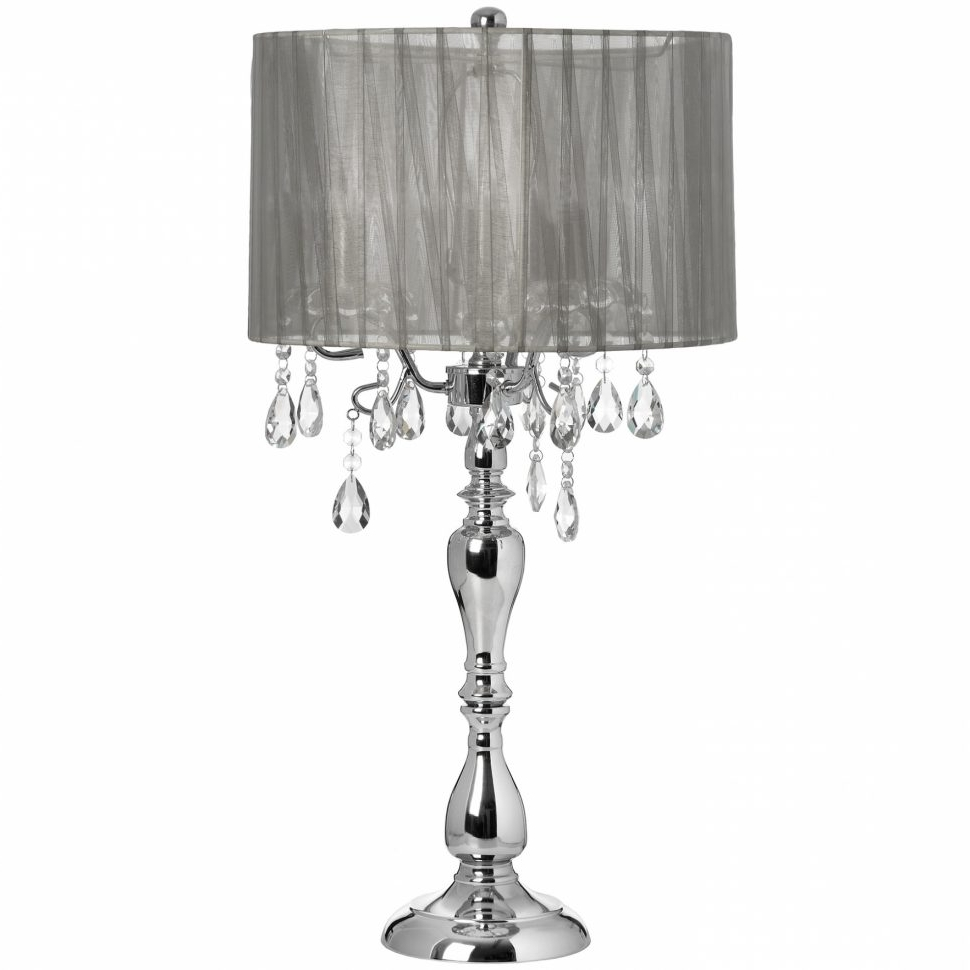 Widely Used Chandeliers With Lamp Shades Regarding Chandeliers : Amazon Crystal Chandelier Swag Lamps Lamp Shades (View 13 of 20)