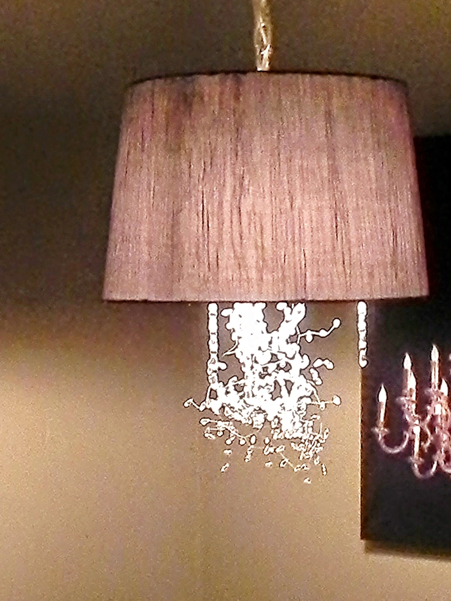 Widely Used Diy Drum Shade Pendant Light – Christina Bell – Youtube For Drum Lamp Shades For Chandeliers (View 20 of 20)