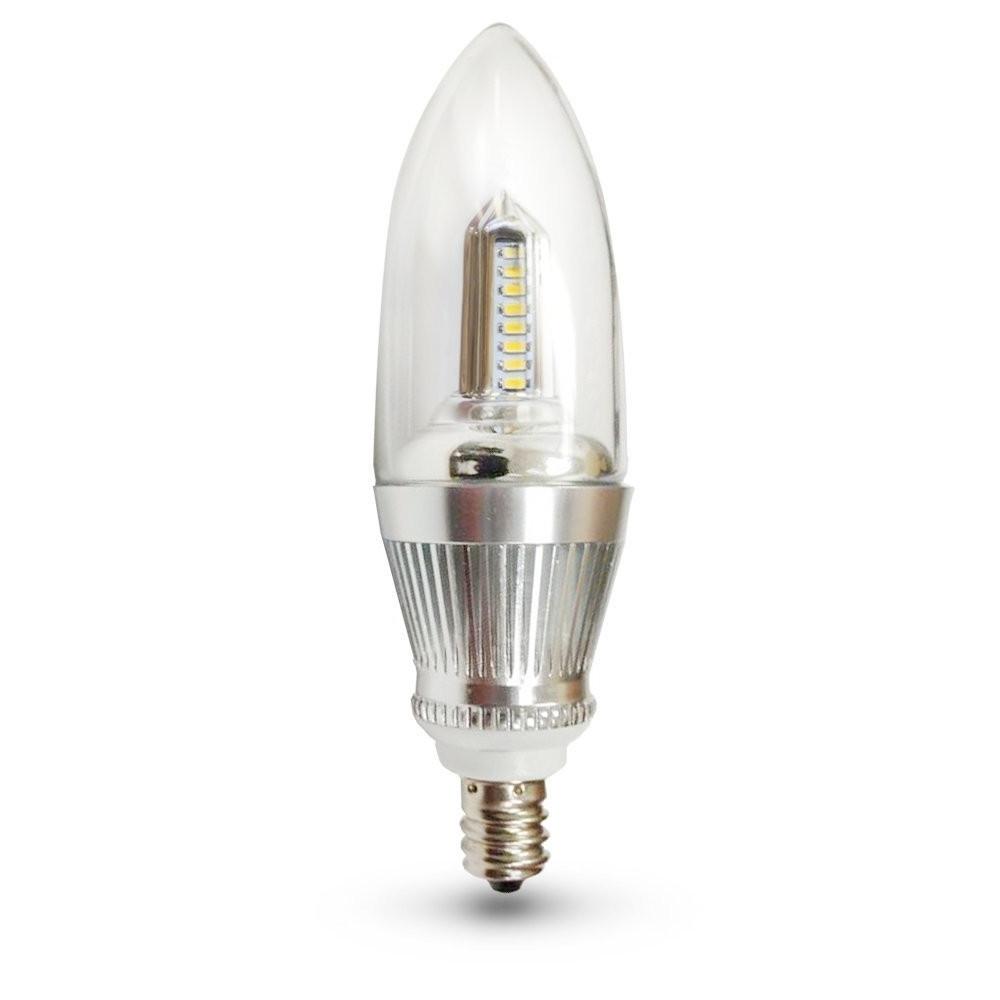 Widely Used E12 Led Bulbs – Led Candelabra Bulbs – E12 Base Chandelier Bulbs Regarding Led Candle Chandeliers (View 5 of 20)