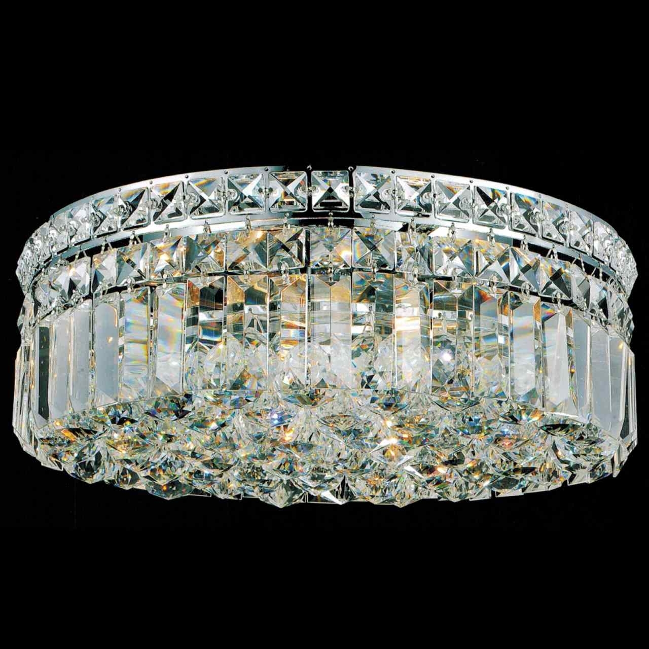 Widely Used Flush Chandelier With Regard To Brizzo Lighting Stores (View 9 of 20)