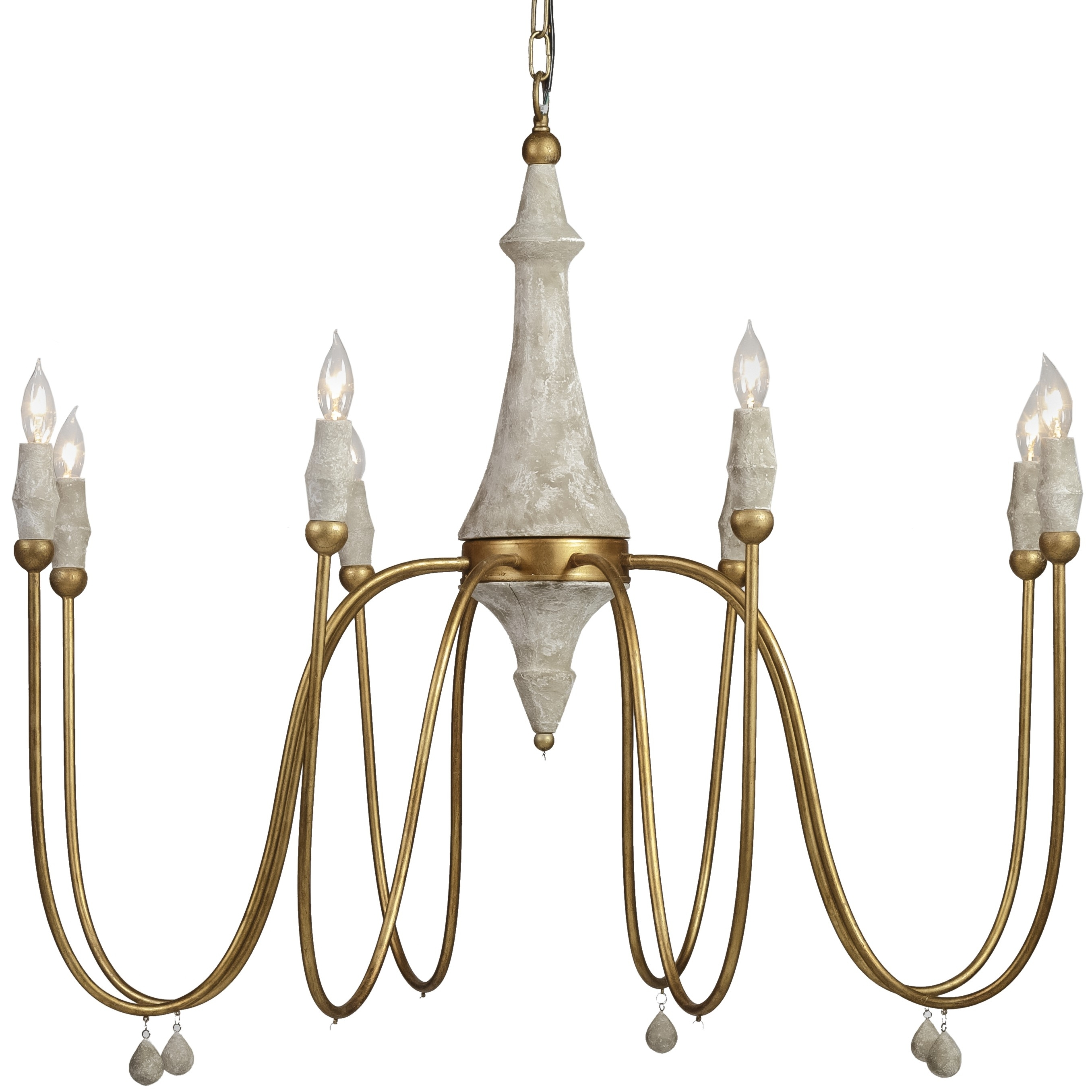 Widely Used Gabby Clay Chandelier (View 2 of 20)