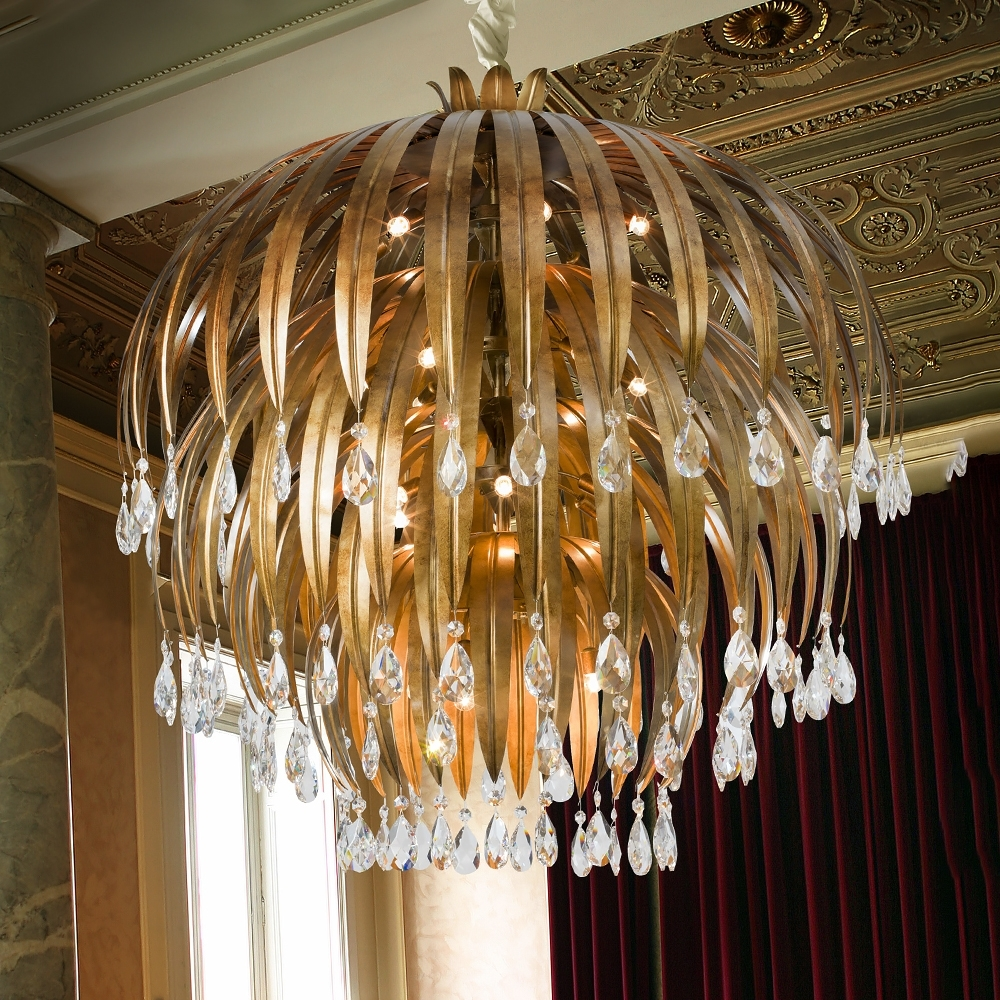 Widely Used Large Bronze Chandelier Inside How To Keep Bronze Crystal Chandelier Sparkling (View 19 of 20)