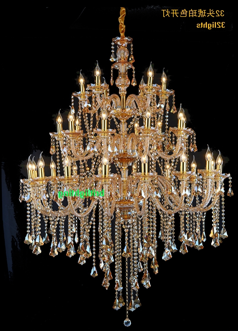 Widely Used Large Crystal Chandeliers Modern Chrome Chandelier Lighting Dining With Large Crystal Chandeliers (View 6 of 20)
