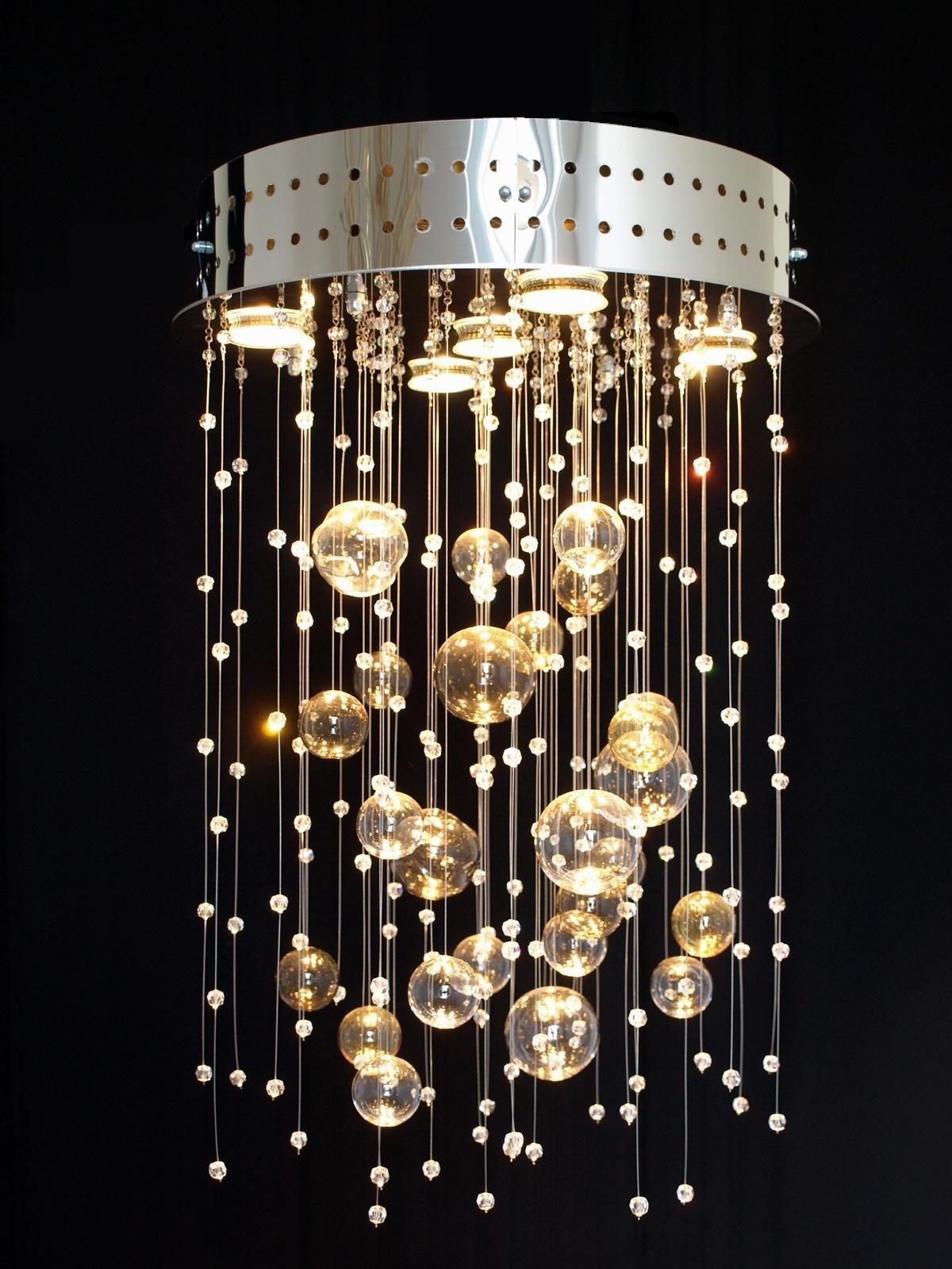 Widely Used Light Fitting Chandeliers Intended For Chandeliers : Glass Chandeliers Awesome Production Crystal Light (View 16 of 20)