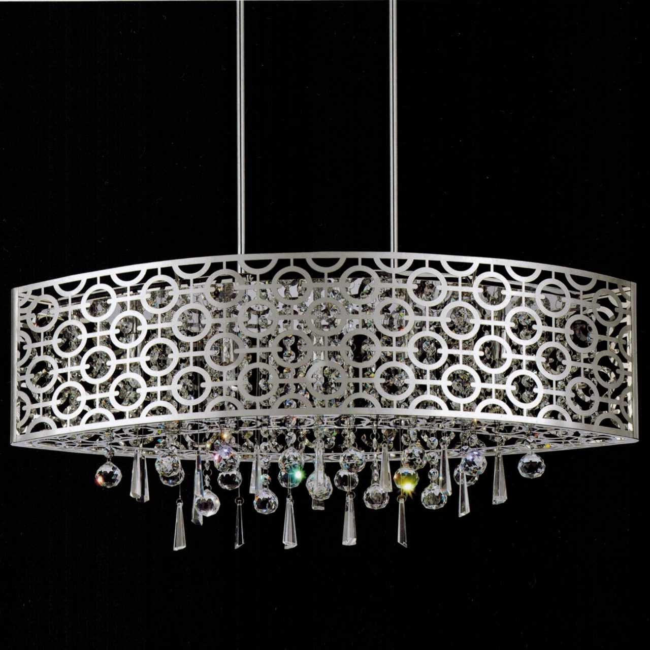Widely Used Long Hanging Chandeliers Throughout Brizzo Lighting Stores (View 9 of 20)